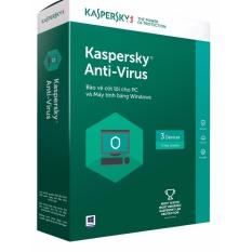 KAV 2017= Kaspesky Anti Virus 2017 ( có đĩa + vỏ hộp)