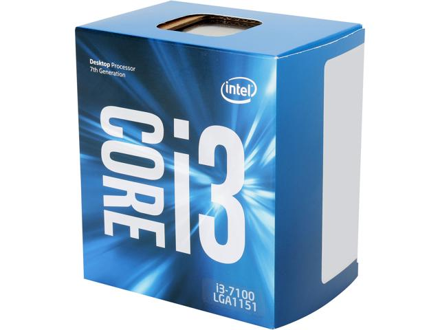 CPU Intel Core i3-7100 3.9 GHz / 3MB  / Socket 1151 (Kabylake)