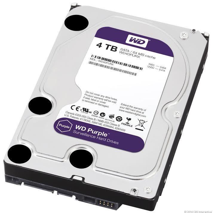 WD HDD Purple 4TB 3.5