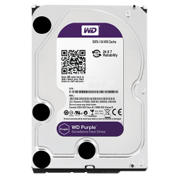 WD HDD Purple 2TB 3.5