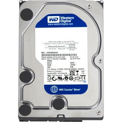 WD Blue  HDD 4TB 5400 S-ATA3 / 6Gb/s 64Mb Cache