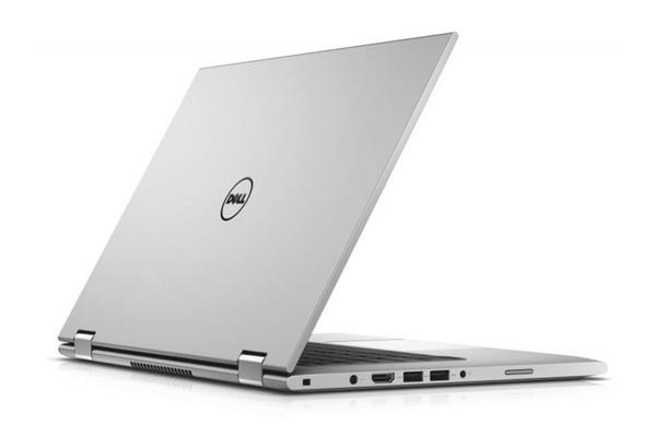 Dell Inspiron 7370 -70134541 - Bạc  màn lật, vỏ mạ nhôm
