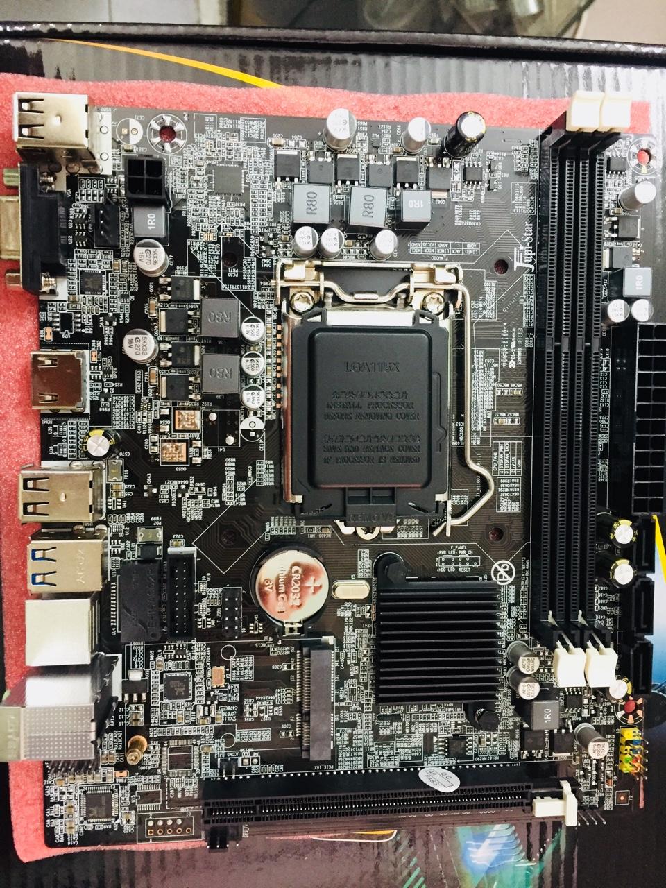 Main Jupistar H110 DDR3 (Chipset Intel H110/ Socket LGA1151/ VGA onboard)