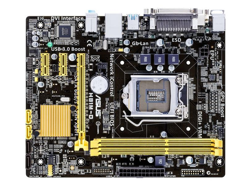 Main Asus H81M-D (Chipset Intel H81/ SK SK1150/ VGA onboard)