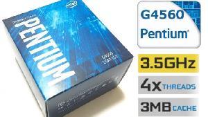 CPU Intel DC G4560 3.5 GHz / 3MB  / Socket 1151 (Kabylake)
