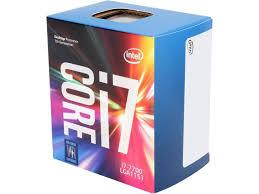 CPU Intel Core i7-7700 3.6 GHz / 8MB / Socket 1151
