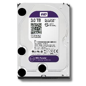 WD HDD Purple 3TB 3.5
