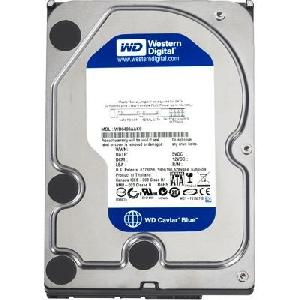 WD Blue HDD 500G 5400 S-ATA3 / 6Gb/s    16Mb Cache