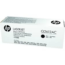 HP Q2612AC Blk Contr LJ Toner Cartridge