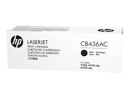 HP CB436AC Blk Contr LJ Toner Cartridge