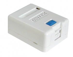 Ổ mạng nổi 1 port Dintek - Surface mount box 1301-02012