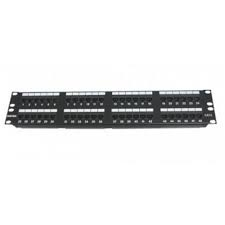 Patch panel 48 Port, CAT.6, 19