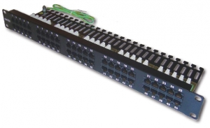Patch panel RJ11 for Telephone 50 Port, 19
