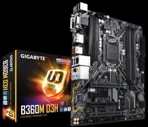 Mainboard Gigabyte B360M-D3H (GA-B360M-D3H)