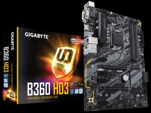Mainboard GIGABYTE GA-B360-HD3
