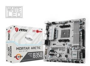Mainboard MSI B350M MORTAR ARCTIC