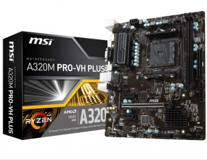 Mainboard MSI A320M PRO-VH PLUS AM4 m-ATX