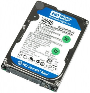 "WD  Blue HDD 2.5"" 500 GB 5400rpm S-ATA for Notebook"