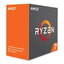 CPU AMD Ryzen 7 1700 3.0 GHz (Up to 3.7GHz) / 20MB / 8 cores 16 threats / socket AM4