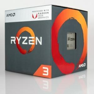 CPU AMD Ryzen 3 2200G 3.5 GHz (3.7 GHz with boost) / 6MB / 4 cores 4 threads / Radeon Vega 8 / socket AM4 / 65W (cTDP 45-65W)