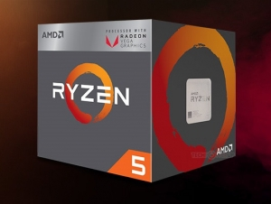 CPU AMD Ryzen 5 2400G 3.6 GHz (3.9 GHz with boost) / 6MB / 4 cores 8 threads / Radeon Vega 11 / socket AM4 / 65W (cTDP 45-65W)