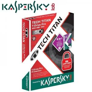 USB 8G Tech.Titan Tích hợp Kaspersky để chống virus và có password bảo vệ