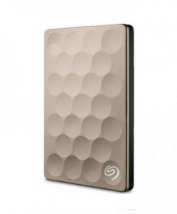Ổ cứng di động Seagate Backup Plus Portable 1TB Ultra Slim Gold (STEH1000301)