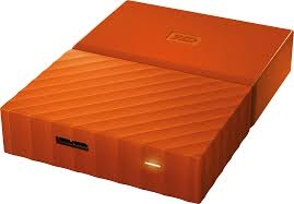 Ổ cứng di động WD My Passport 1TB Orange Worldwide