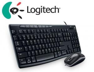 Bộ bàn phím chuột Logitech MK200